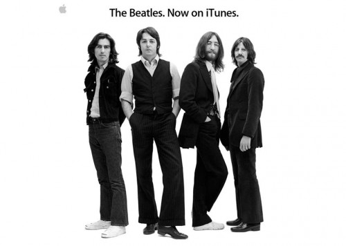 Si! Finalmente los Beatles en iTunes!