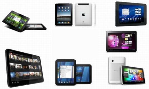 Xoom de Motorola, iPad de Apple, Slate de HP, Galaxy de Samsung. Cuál va a elegir tu abuela?